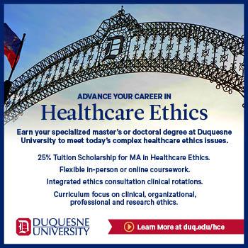 Duquesne University ad - Academic Programs page